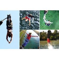 Bungee Jumping Wahlgutschein + Video & T-Shirt