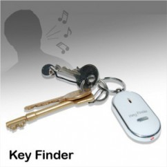"Keychain ""Keys finder"" by whistling"