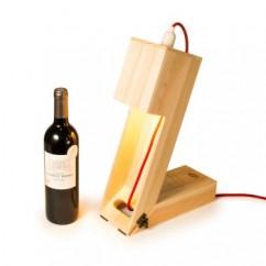RACKPACK Wine ligth - Botella de vino y lámpara personalizada